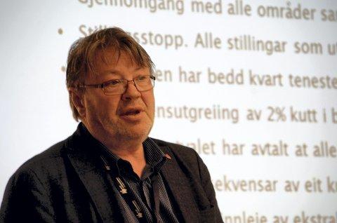 Moglegheiter: Rådmann Jan Egil Fossmo.
