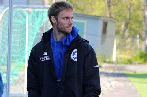 SKUFFET: David Lundblad var skuffet etter 0-2-tapet mot Harstad.