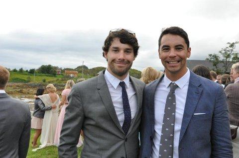 De canadiske skistjernene Alex Harvey og Jesse Cockney. (Foto: Sander Lied Edvardsen )