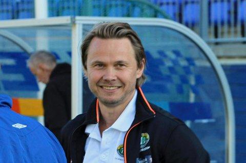 FORNØY: FIL-trener Bjørn Johansen var fornøyd etter 2-0 seieren borte mot Ullern.