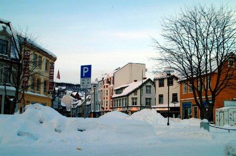 NYTT NAVN: Harstad, her fra sentrum. Arkivfoto.