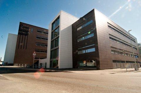 NY BUTIKK: I det nye bygget over Hålogaland Teater skal Coop Prix-butikken flytte inn.