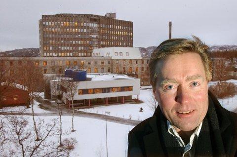 GIKK AV: Sykehusdirektør Eivind Solheim ved Nordlandssykehuset i Bodø.