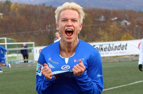 HJEM IGJEN: TUIL og Senja er enige om en overgang for Christer Johnsgård. Da blir det nok flere slike scener i 2018-sesongen.