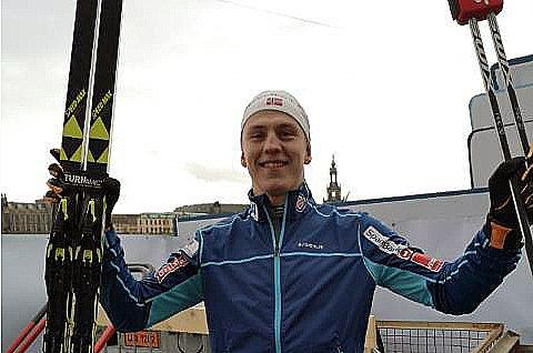 SEIER! Sørreisagutten Eirk Valnes fra BOIF skrev idrettshistorie søndag. Bare en gang før har en tromsløper vunnet et renn i verdenscupen i langrenn før.