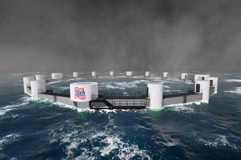 OFFSHORE: Slike nedsenkbare havmerder er det Norway Royal Salmon ønsker å bruke.