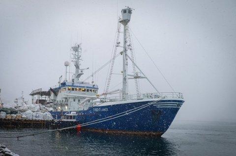 Lance i Tromsø før skipet la ut på redningsaksjon.