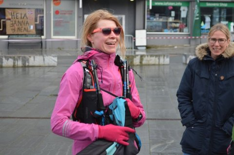 ULTRALØPER: Silje Fismen var en aktiv løper. Her fra et løp i Lofoten i juni i år.