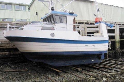 Fiskebåten Andreas var en ombygd fritidsbåt.