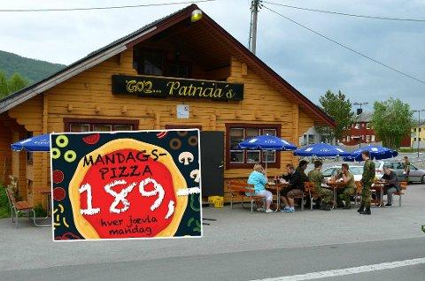 I FOKUS: Patricias Gatekjøkken har skapt overskrifter før, her for sin pizzareklame.
