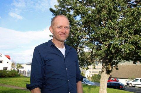 INTERNASJONAL: Jens K. Styve bor i Tromsø, og leses snart i over 20 land. – Jeg har ikke tid til å bli engstelig.