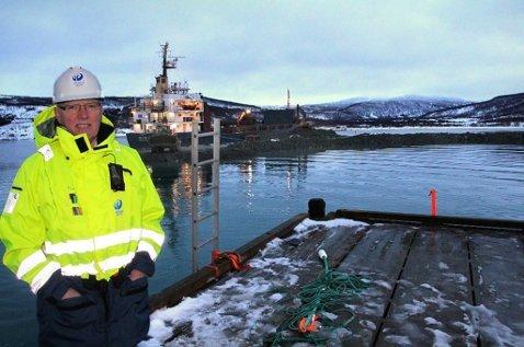Halvar Pettersen, havnesjef i Tromsø.