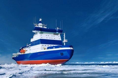 LK-60 blir verdens største og sterkeste isbryter.