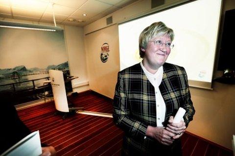 Fiskeri- og kystminister Elisabeth Aspaker.