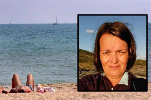 Ellen Wahlgren fra Nordreisa er ikke bekymret for pengekrisa i Hellas. Foto: Privat