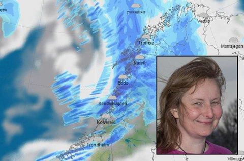 Meteorologisk institutt kutter antall ansatte og omorganiserer. Fortsatt vet ikke de ansatte i Tromsø hvem som må gå, sier tillitsvalgt Ine-Therese Pedersen. Foto: Meteorologisk institutt (Montasje: Nordlys)