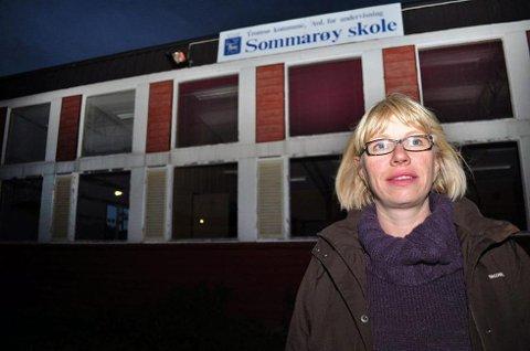 Åshild Strømmesen i  Brensholmen/Sommarøy utviklingslag.