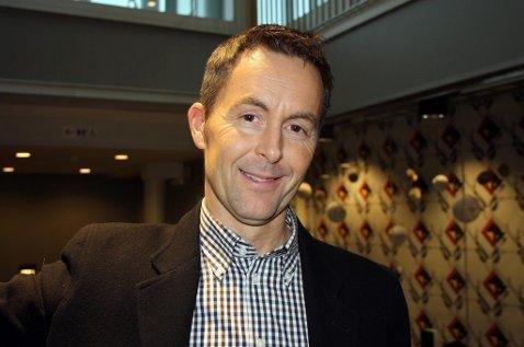 KUTT: Stein Vidar Loftås, konserndirektør for kommunikasjon og samfunn i Sparebanken Nord-Norge.