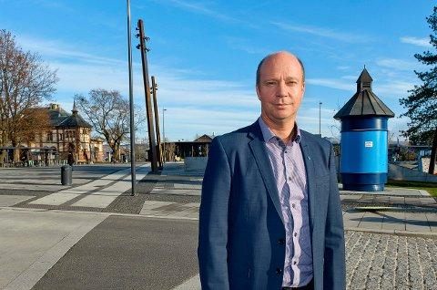 BLE GJENVALGT: Venstres stortingsrepresentant, Ketil Kjenseth var den første Venstre-mann som ble valgt inn på Stortinget for Venstre i nyere tid. Fire år etter fikk han fornyet tillit.