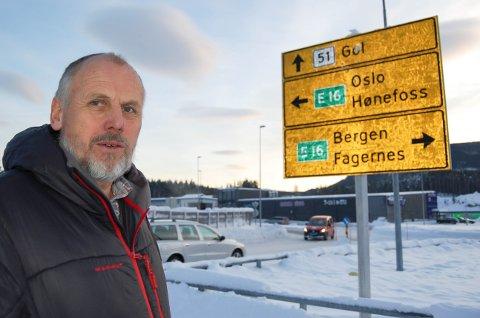SER FORDELER: Eivind Brenna ser klare fordeler ved at Valdres går ut av nyfylket Innlandet og inn i storfylket Viken.Foto: Ingvar Skattebu