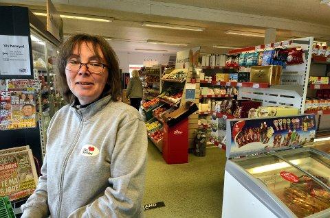 Lise Thingvald, butikksjef i Nærbutikken Svatsum.
