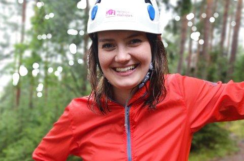VIL TIL TINGET: Stine Hansen fra Eina er på 1. plass på listen til Venstre i Oppland. Nå forbereder hun kampen om velgerne foran høstens Stortingsvalg.