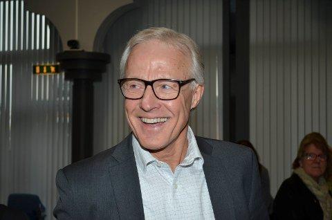 SER FRAMOVER: Torbjørn Almlid, nestleder i styret i Sykehuset Innlandet, sier beslutningen om ny sykehusstruktur er tatt, og at det nå blir viktig å se framover.