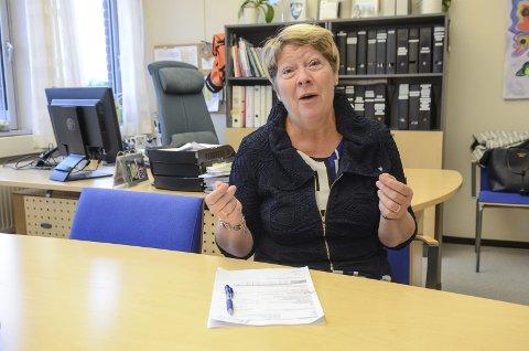 STORE KUTT: Kommunalsjef Janne Short Aurlien må kutte mye i oppvekstsektoren i Ski kommune.