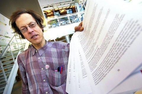 SLURVETE: Departementet skal være glad for at trykksaken om Taraldrud ikke rammes av markedsføringsloven, mener innsender Pål Jensen.