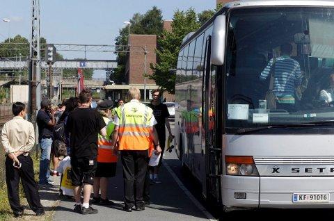 NSB råder deg til å beregne god tid når du skal fram og tilbake fra Oslo i påsken. Det er nemlig buss for tog på grunn av arbeid med Follobanen.