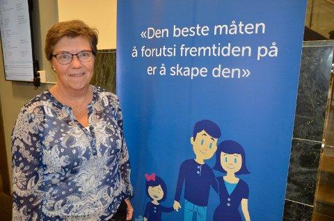 TOPPEN: Turid Grotmoll er den kvinnen i Oppegård med høyest inntekt.