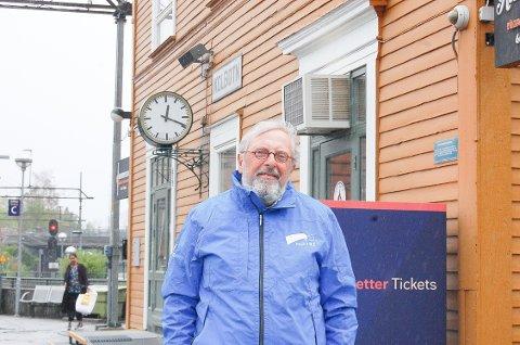 TAKKER: Bjørn Kløvstad (59) takker for tilliten innbyggerne i Nordre Follo har gitt ham.
