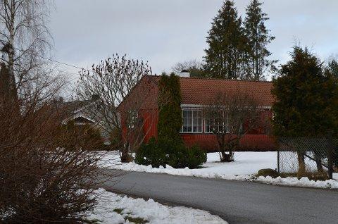 Denne boligen i Sagaveien i Ås ble solgt for 14 millioner kroner.