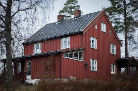 SIST KJØPT: Som den siste av totalt åtte eiendommer, kjøpte Solon Theodor Hansens vei 14A for 35,2 millioner i januar i år. Til sammen har de kjøpt eiendommer for 174,5 millioner og mangler nå en tomt som kommunen eier.