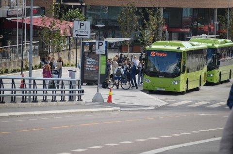 Alle by- og regionsbusser i Ruters område blir innstilt på grunn av streiken. Arkivfoto: Natalie Kristiansen