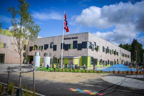 SATT I KARANTENE: Fjerde trinn ved Rustad skole