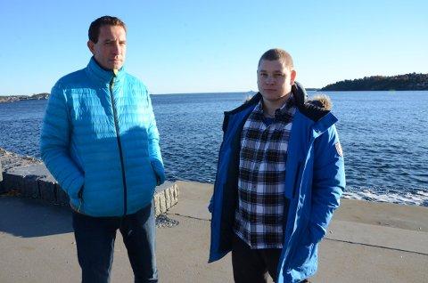 – Det hele føles fortsatt helt uvirkelig, sier John Kristian Ingebrigtsen, til venstre, og Fredrik Falkensten Strand