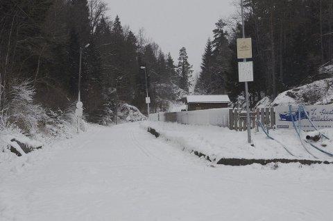 Her er alt klart: Ved Bjørndalen har Nanset Ski kjørt opp løyper, og kjører opp mer i helgen hvis det kommer snø. Foto: Bjørn-Tore Sandbrekkene