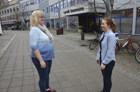 Trivsel viktig: – Det vi gjør for hverandre i hverdagen er det viktigste, sier Ulrikke Andersen, til høyre. Derfor har hun nominert Ninal Rollag til Årets medarbeider.