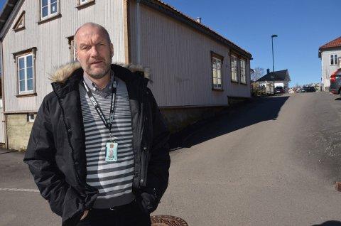 Kjent for politiet: Krimsjef i Larvik, Knut Vidar Vittersø, sier at de to mennene som er pågrepet av politiet er kjent for tidligere forhold.