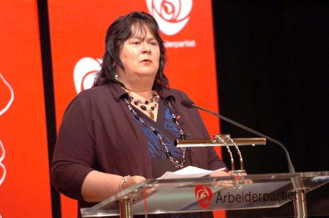 Sonja Mandt Bartholsen leder Vestfold Arbeiderparti stortingsrepresentant Foto: Erik Wold Aunemo