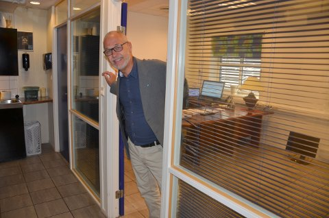 Åpen dør: Ordfører Rune Høiseth tar gjerne imot besøk på sitt nye kontor i Feyers gate.