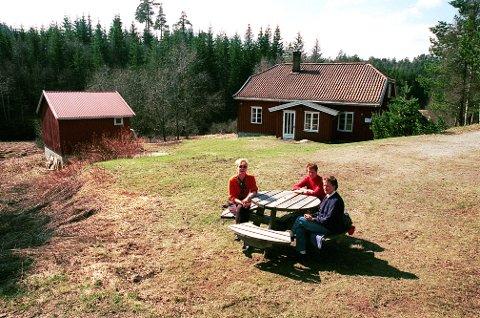 EIKEDALSMARKA Det gamle bruket Eikedalen (nå kalt Eikedalshytta) tjener i dag som LOTs turisthytte i Eikedalsmarka .