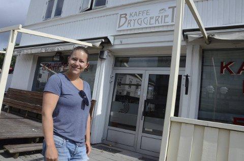 HØYE LEIEPRISER: Sara Caroline Wikstrøm så seg nødt til å stenge Sara's kafé fordi leien ble for høy, men prisen var satt ut ifra budsjettet hun leverte inn, ifølge Amfi, som eier lokalet.