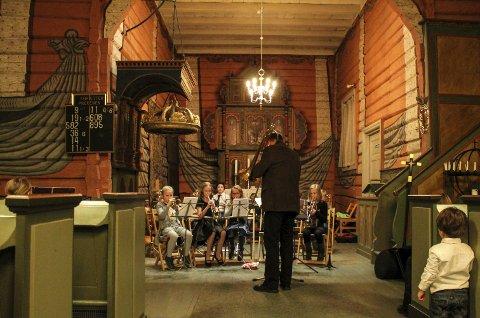 I kirken: Svarstad kirke er scenen når Lardal kulturskole inviterer til konsert onsdag.