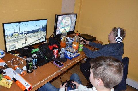 Populært: Spillkveldene til Valby ungdomsklubb har trukket ungdom til dataspillsamling i 11 år.