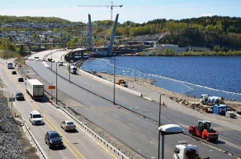 HASTEOPPDRAG: Skiensfirmaet kontaktet Tønsbergfirmaet Langset Rope Access da underentrepenøren trakk seg.