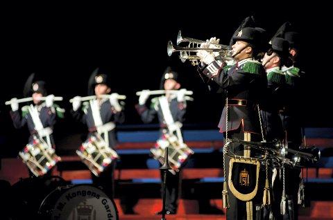STAS: Det er veldig stas for et lokalt korps å få HMK Garden som gjester i en konsert. I mars kommer de til Larvik.