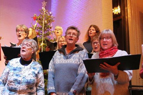 TRADISJON: Den siste julekonserten før jul er det som oftest Tjølling Sangforening som byr på.