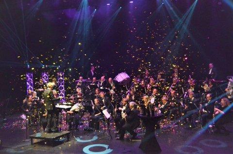 POPULÆR TRADISJON: Nyttårskonsertene til Nanset Blåseensemble har vært fast tradisjon siden den første tidlig på 80-tallet.